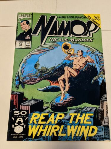 Details about  /Namor The Sub-Mariner #13 April 1991 Marvel Comics