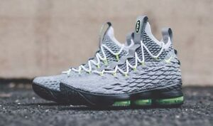 low priced e5236 a222b Image is loading Nike-Lebron-15-Air-Max-95-Neon-QS-
