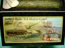 "CORGI DIECAST 1:50 SCALE UNSUNG HEROES "" M48A3 TANK "" USMC US50301"