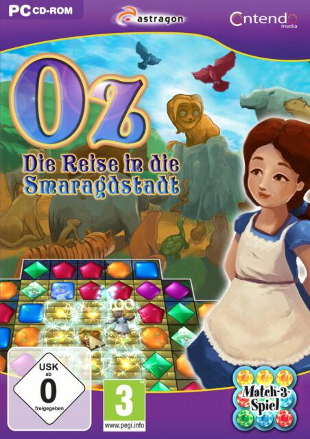 PC-Spiel OZ: DIE REISE IN DIE SMARAGDSTADT (Match 3 gewinnt) PC-Spiele