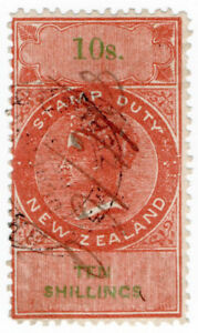 I-B-New-Zealand-Revenue-Stamp-Duty-10-1867-inverted-watermark