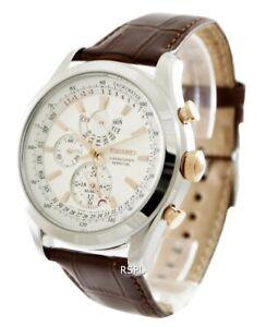 Seiko-Chronograph-Perpetual-SPC129-SPC129P1-SPC129P-Men-039-s-Watch