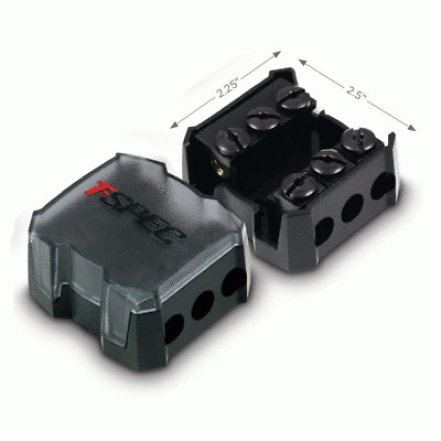 T-Spec V12-MANL 1//0 AWG Compact Fuse Holder