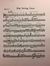 BUDDY RICH - BIG SWING FACE - 17 PART FULL BIG BAND CHART - GREAT!!