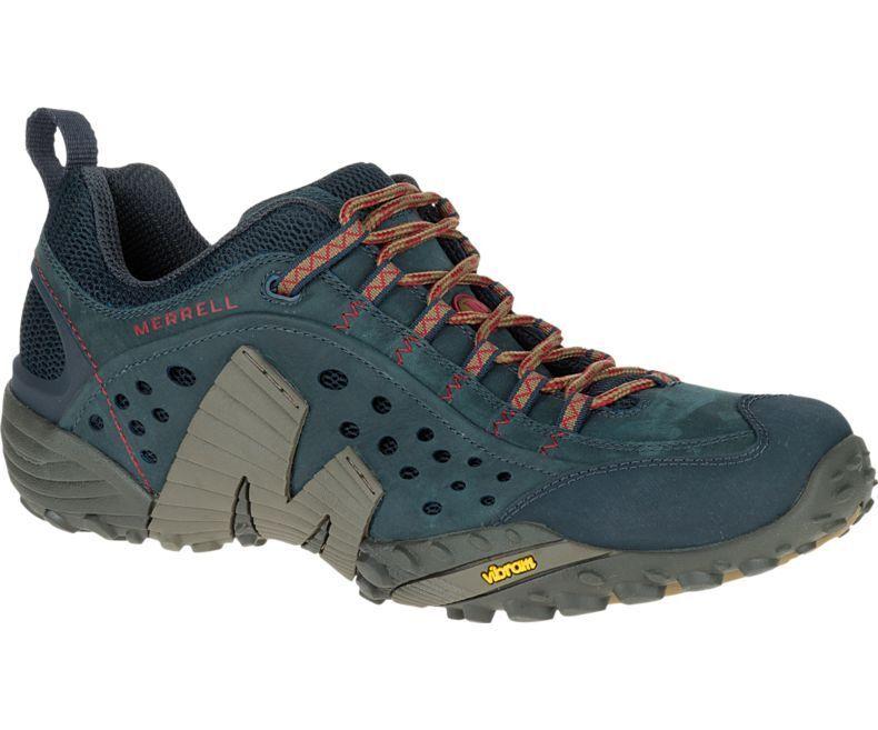 Merrell Intercept Men's Walking shoes J559593 bluee Wing NEW