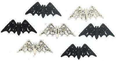 Jesse James Buttons ~ Dress It Up ~ BEWITCHING BATS ~ Halloween Bats