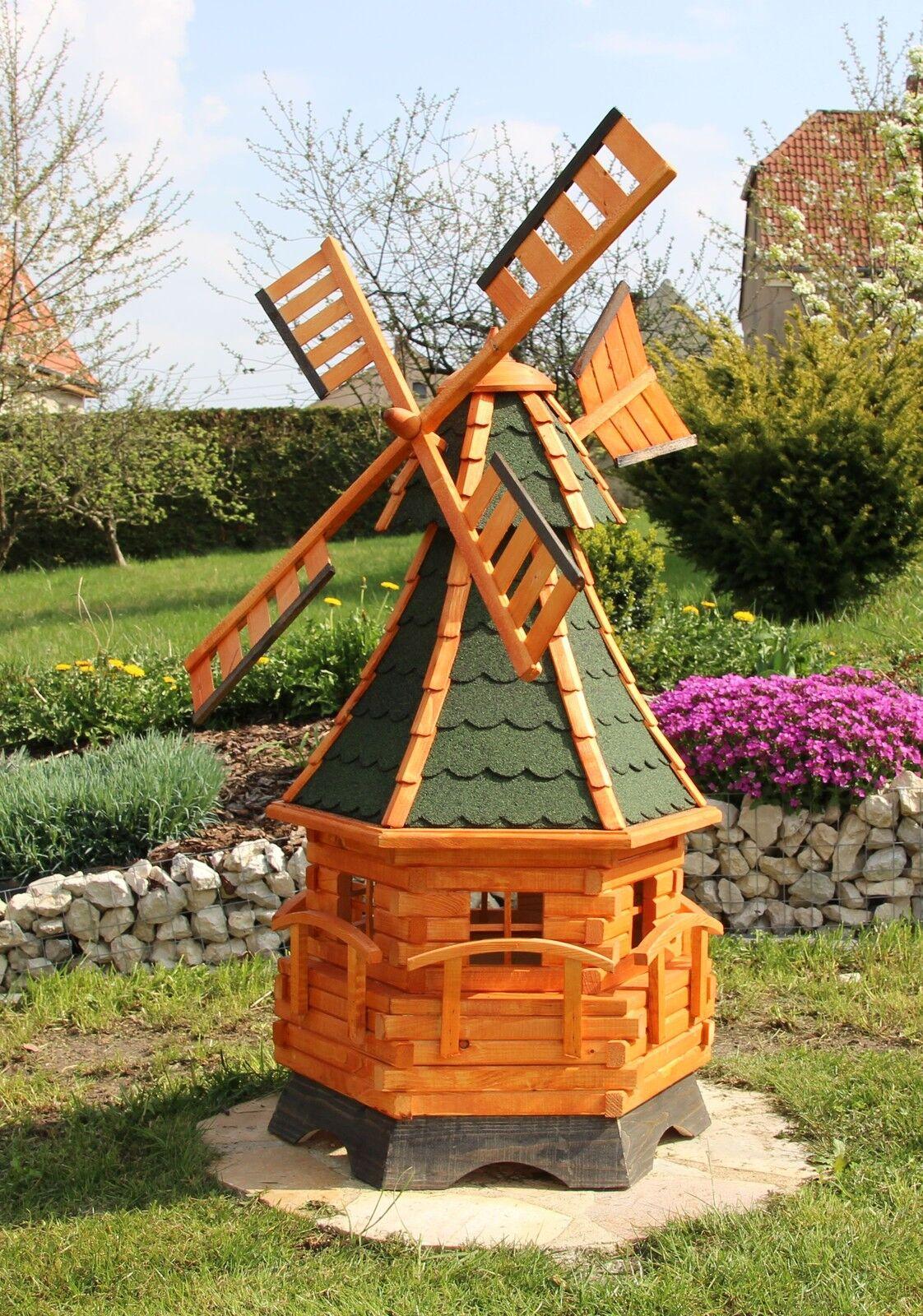 ampia selezione GRANDE gartenwindmühle con illuminazione illuminazione illuminazione LED Typ 12 scelta in 4 coloreI DEL TETTO  nuovo stile