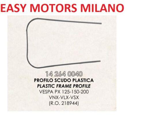 RIF 218944 PROFILO BORDO SCUDO PLASTICA PIAGGIO VESPA PX VNX VLX VSX 125 150 200