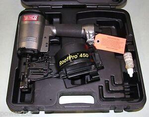 Senco Roofpro 450 Coil Roofing Nailer Amp Full Warranty Ebay