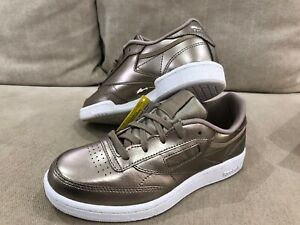 Details about New In Box Girls Reebok Classic Metallic Gold Kids Runners Shoes 12 US 18 cm