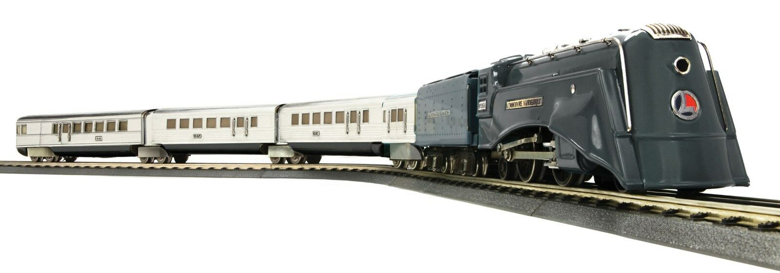 MTH Lionel Corp. Tinplate 295E O Gauge DC Ssquadra Passenger Set PS2 1160301