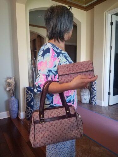 Authentic Louis Vuitton Josephine Denim Hand Bag P