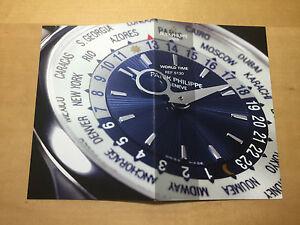 Brochure-Booklet-PATEK-PHILIPPE-World-Time-Ref-5130-New-Models-2007