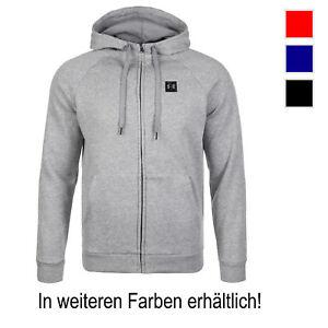 Under-Armour-ColdGear-Rival-Fleece-Trainingskapuzenjacke-Herren-NEU-Hoodie
