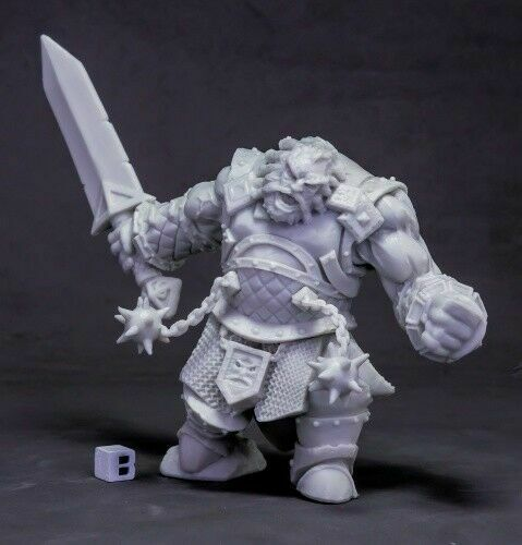 2H Axe REAPER BONES III KICKSTARTER 77544 Frost Giant Bodyguard