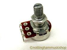 500k ohms type B linear guitar pot sub miniature potentiometer volume/tone short