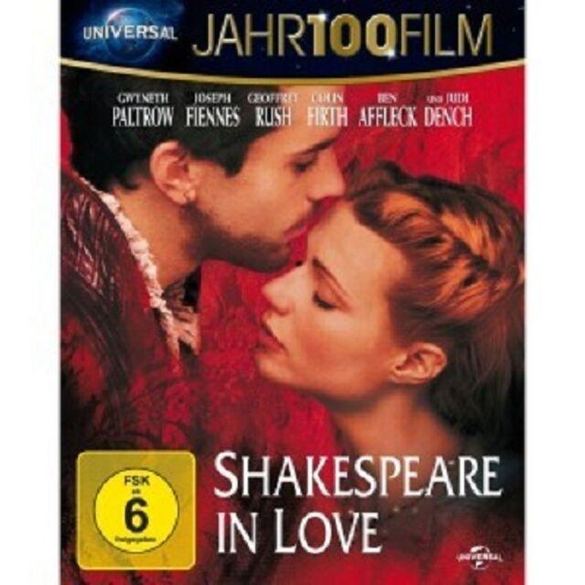 SHAKESPEARE IN LOVE JAHR100FILM BLU-RAY NEU G. PALTROW,JOSEPH FIENNES,G. RUSH