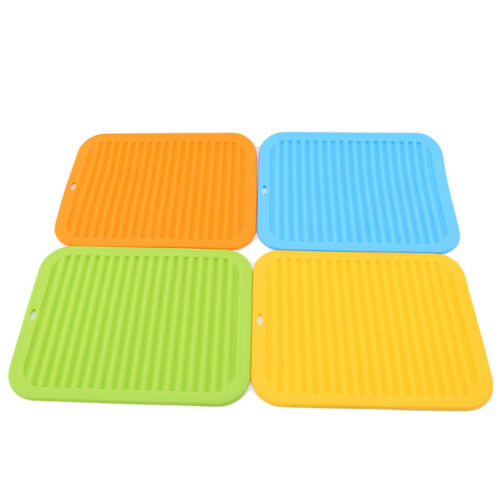 Dining Table Protector Square Insulation Mat Silicone Heat Resistant Anti Scald