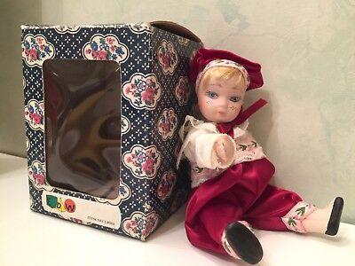 Antique (pre-1930) Dolls Les Poupées Carine Edw N° Lp980 Porcelaine 18 Cm Avec Boite Easy To Lubricate