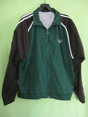 Détails sur Veste Adidas Trefoil 90'S Polyester Vintage Vert