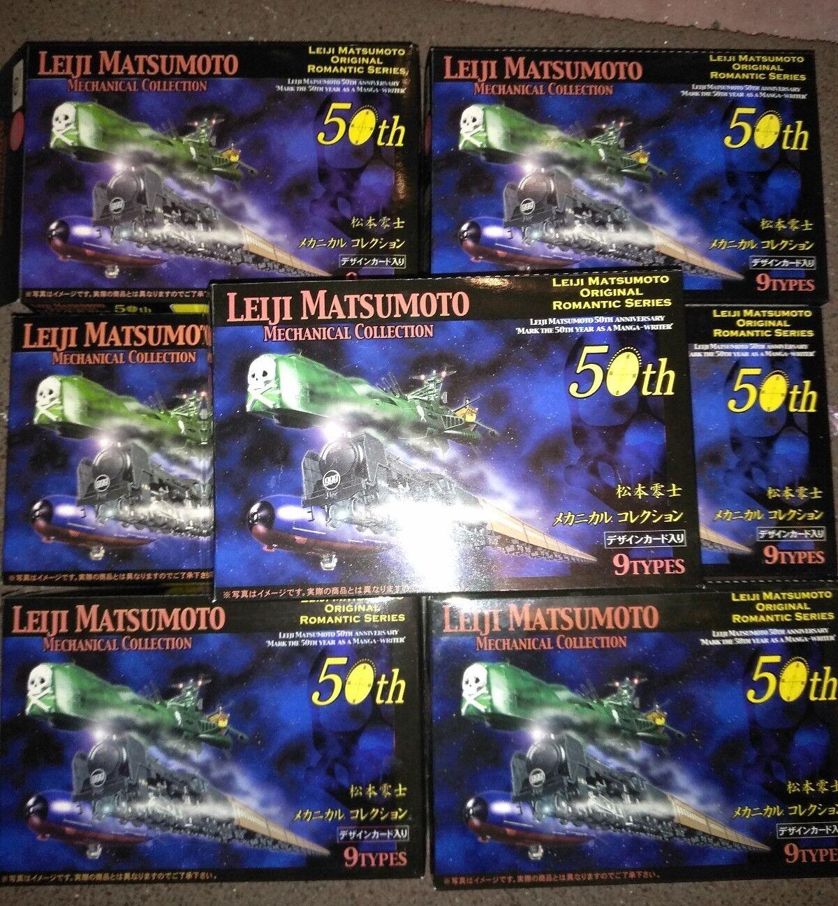 Set leiji matsumoto mechanical file Arcadia Galaxy Express 999