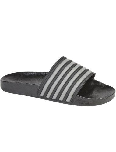 Nouveau Homme HENLEY été plage piscine Curseurs Tongs Sandale Chaussures Taille 7-12