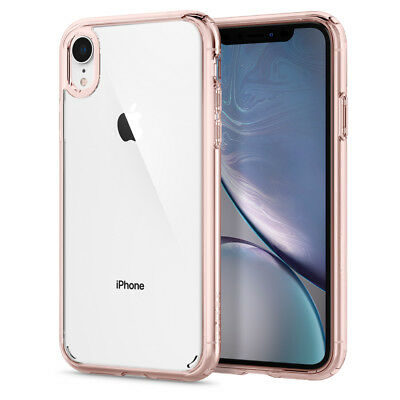 iPhone XR / 10R | Spigen® [Ultra Hybrid] Bumper Protective Shockproof Case Cover