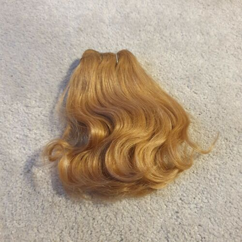 Human and Synthetic Hair Rooting Reborn Babies Toddlers Wave Blonde NOT Mohair