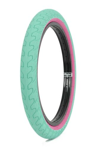 1 x RANT SQUAD BMX BIKE BICYCLE TIRE 20 x 2.35 FIT HARO SUBROSA CULT TEAL PINK