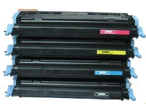 HP-Colour-LaserJet-1600-2600-2605-Complete-Toner-Set-Q6000A-Q6001A-Q6002A-Q6003A