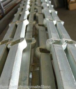 barra forata in ferro battuto zincata a freddo Q.14 per inferiate EU ...