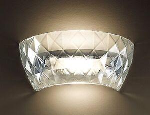 Applique in vetro di murano della leucos modello atelier offerta! ebay