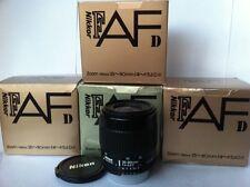 Nikon AF 35-80mm D obiettivo zoom con garanzia D7000 D7100 D80 D100 Full Frame/DX