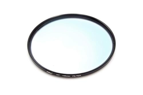 Universal Protective UV Filter Metal black 105mm for Photo Camera