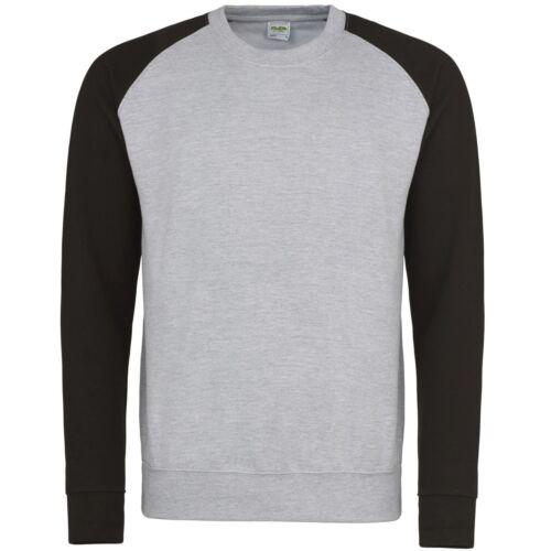 AWDis Baseball Swearshirt S-XXL JH033 UNISEX-Multi Colore