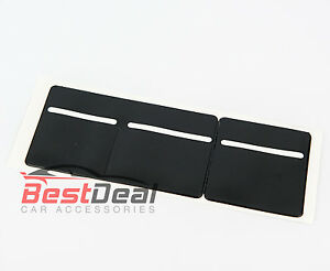 New-Black-Windscreen-Tax-Insurance-NCT-Disc-Holder-for-Cars-Vans-Taxi-3-pocket