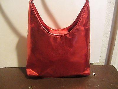 Giannini Metalic red bag