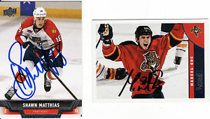 MARCEL GOC FLORIDA PANTHERS RARE AUTO039DSIGNED NHL CARD - <span itemprop='availableAtOrFrom'>Tadley, Hampshire, United Kingdom</span> - MARCEL GOC FLORIDA PANTHERS RARE AUTO039DSIGNED NHL CARD - Tadley, Hampshire, United Kingdom