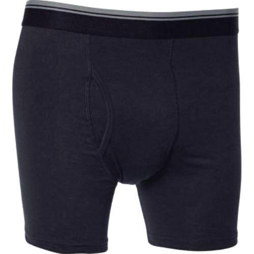 "KIRKLAND Mens 4x Pairs BOXER SHORTS Briefs Pants Trunks BLACKSmall 28-30/"""