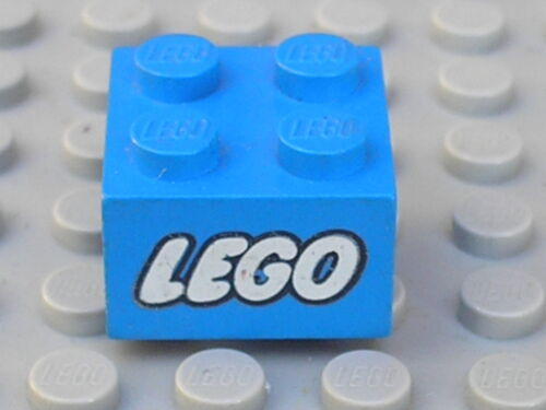 LEGO vintage 2x2 brick with LEGO pattern 3003px3 Sets 410 349 604