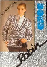 Knits with Robin Pattern Book Bond Classic USM  Ultimate Sweater Machine