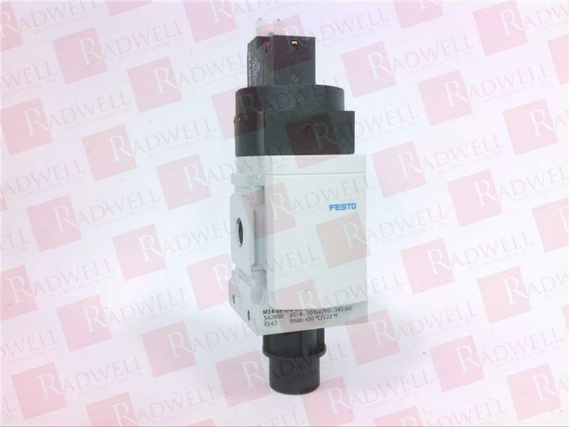FESTO ELECTRIC MS4-EE-1 8-10V24-S   MS4EE1810V24S (USED TESTED CLEANED)