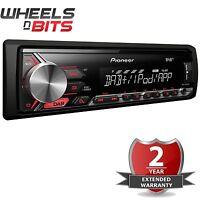 Pioneer Mvh-280dab Mechless Dab Dab+ Usb Aux Car Stereo Radio Android Player