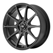 """4-NEW Motegi MR127 18x8 5x114.3/5x4.5"""" +38mm Satin Black Wheels Rims"""
