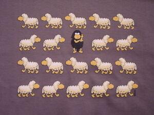 T-Shirt-034-Black-Sheep-Schwarzes-Schaf-034-auch-als-Damen-Girli-Shirt-NEU