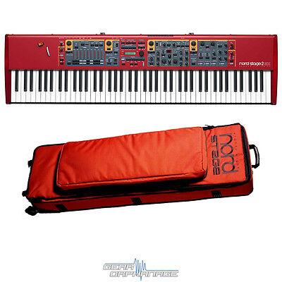 Nord Stage 2 EX 88 HA88 88-Key Stage Piano DEMO! + GB88 GIG BAG! HA-88
