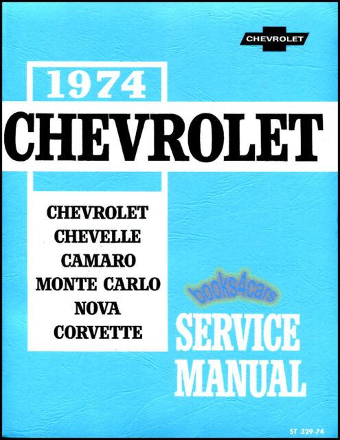 1974 chevrolet impala caprice chevelle camaro nova corvette oem shop rh ebay com 1996 Impala SS 64 Impala SS