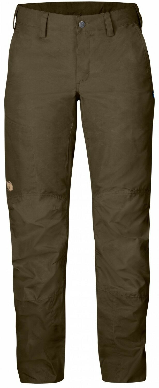 Fjällräven Nilla Trousers Damen Outdoorhose - Dark Olive Olive Olive 3c3a63