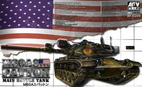 AFV CLUB US M60A3 TTS MAIN BATTLE TANK 1:35 35249