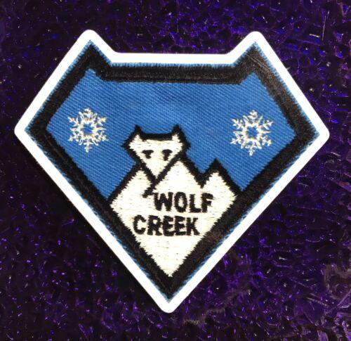 Wolf Creek Colorado Ski Resort STICKER Made From Image Of Vintage Ski Patch